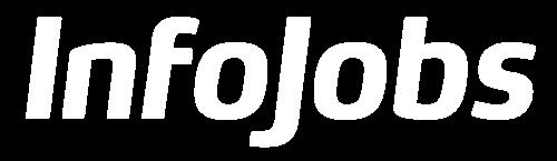 Logo infojobs blanco